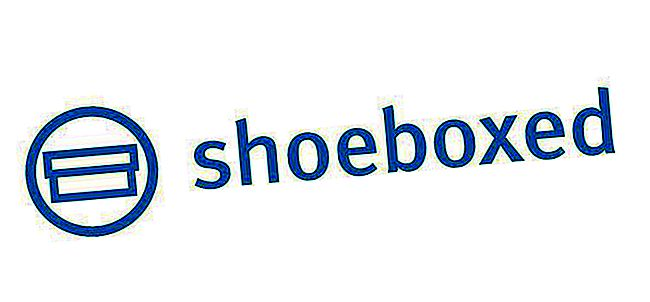 Shoeboxed logotip