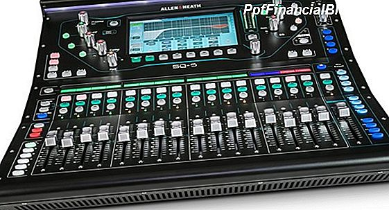 PSSL - Allen & Heath SQ-5 Digitalmixer-Giveaway