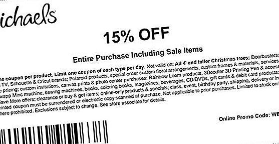 Michaels Printable Coupons