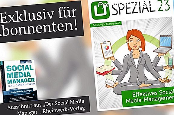 5 Geheimnisse für effektives Social Media Management