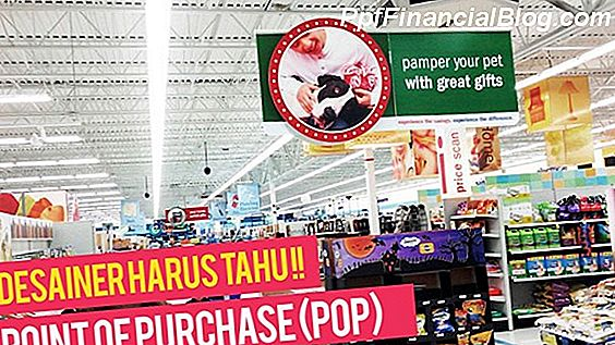 Point-Of-Purchase (POP) Menampilkan dalam Ritel