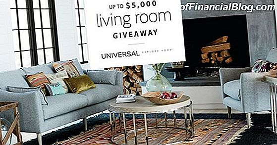 Universal Furniture - $ 5,000 Furniture Giveaway (Verlopen)