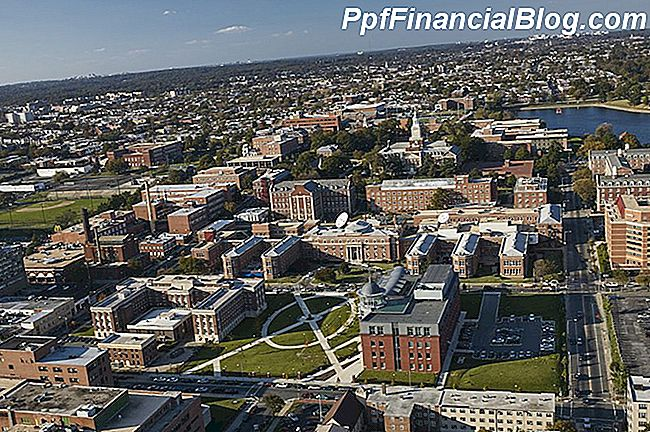 VS, Washington, D.C., Luchtfoto van Howard University-campus